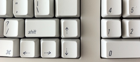 MK-96 arrow keys cluster